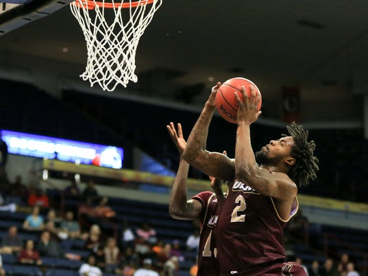 NCAA Basketball 2016: Sunbelt Conference Championship Little Rock Trojans vs UL Monroe Warhawks MAR 13