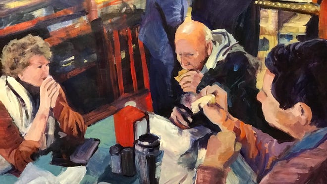 Faces and Figures, an exhibit of portraits painted Andrew Murphy, opens Aug. 17 at the Etherredge Center Gallery at USC Aiken.