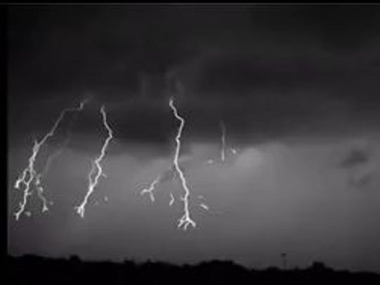 Florida Tech recently captured amazing video of lightning