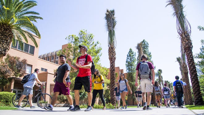 New freshmen enrollment by California students at ASU reached a peak in 2015, when more than 1,400 freshmen signed up for ASU classes.