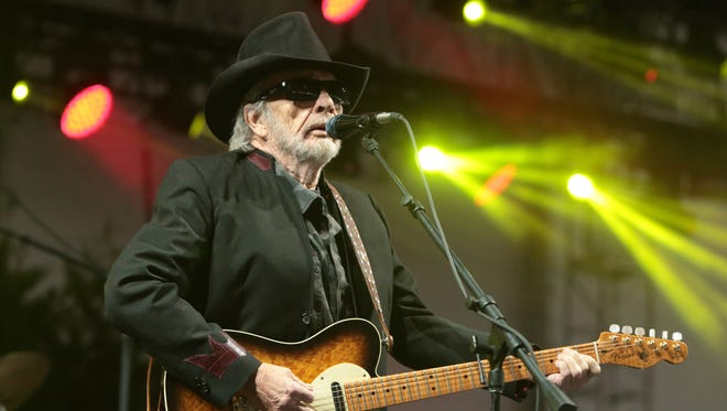 Merle Haggard, seen at 2015 Big Barrel Country Music Festival in Dover, Del., has died at 79.
