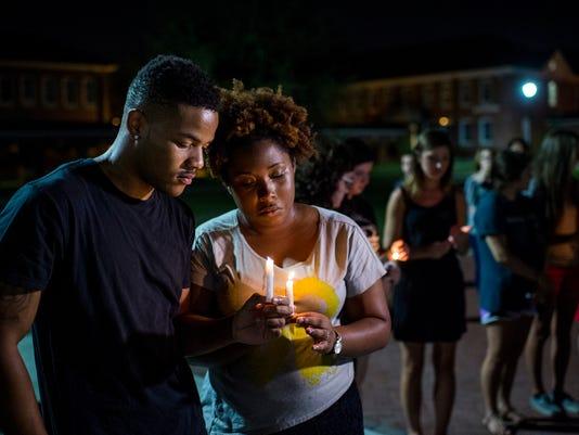 Lafayette, Louisiana Shooting Vigil