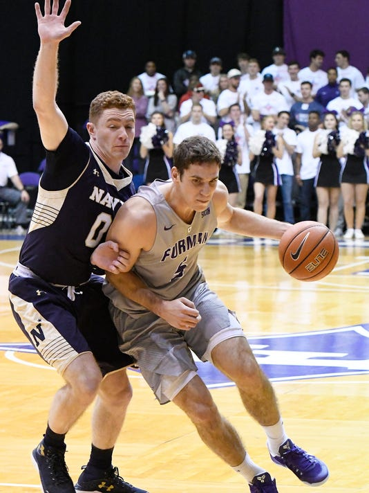 Furman Vs. Navy