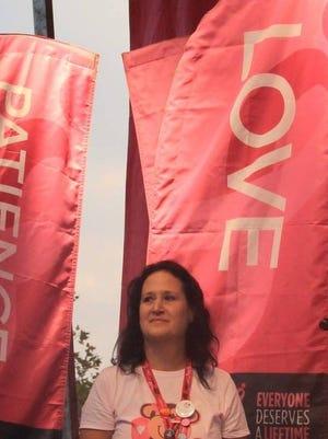 Sharon Slosarik of Cedar Grove.