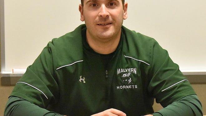 Malvern head coach Matt Chiurco hopes to improve his record against Strasburg to 4-0 Friday.