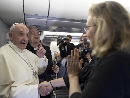 Pope 35000 Feet