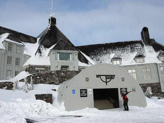 Timberline Lodge on Mount Hood is Oregon's oldest ski area.