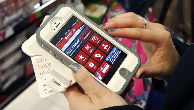 Bumps in mobile traffic and sales come as retailers try to make the mobile shopping experience easier by improving their apps and adding coupons and other deals.