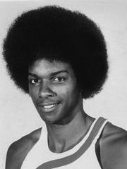 Darnell Hillman, Indiana Pacers during the ABA days.