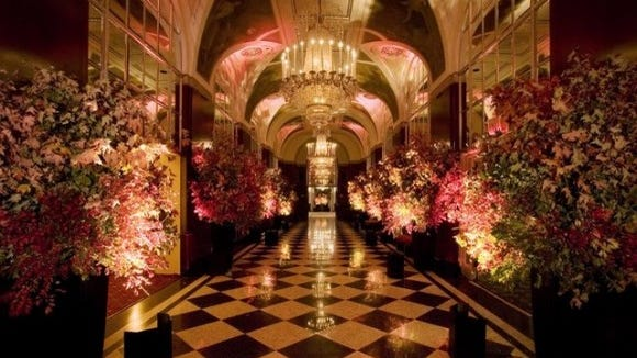 Luxe venues are popular.