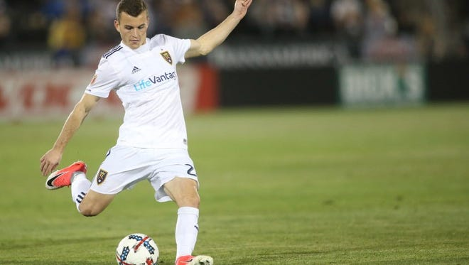 Real Salt Lake's Brooks Lennon is one of the top players on the U.S. U-20 World Cup team.