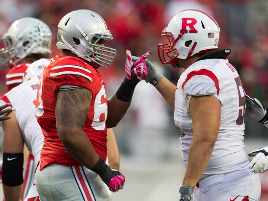 NCAA Football: Rutgers at The Buckeyes