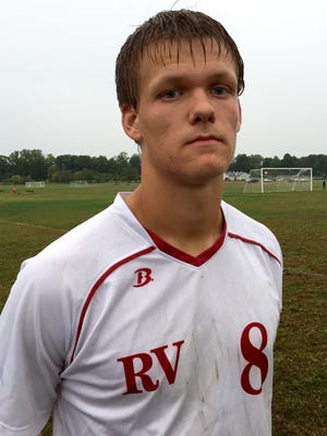 Q and A Trent Hall, a senior defender for Rancocas Valley