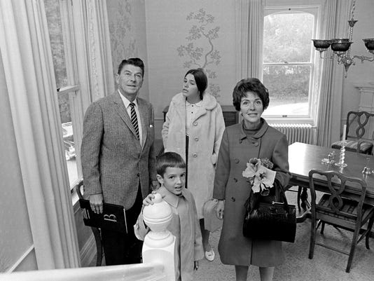 Ronald Reagan, Nancy Reagan, Patricia Reagan