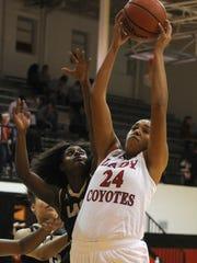 Wichita Falls High School hopes to take advantage of junior post Jada Jackson's size more this season.
