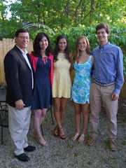 ChrisEmde (left), and his wife, Marina Emde, of Bloomfield Hills have three children: Bianca, 18, Courtney, 13, and Alex, 15. Bianca is a freshman this year at the University of Michigan in Ann Arbor.
