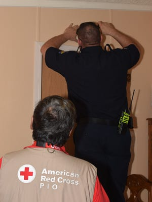 American Red Cross volunteers are partnering with the Carrizozo Volunteer Fire Department  will install free smoke alarms  Saturday.