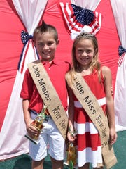 River Day's Little Mr. Braxton Garrett and Little Miss – Briley Garrett