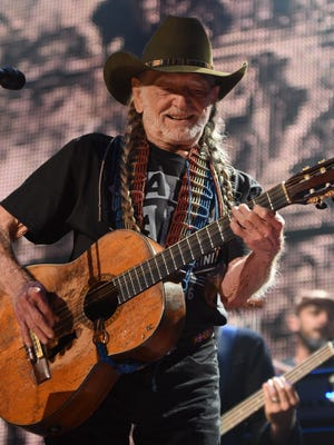 Willie Nelson performs at Farm Aid 2016 in Bristow, Va., Sept. 17, 2016.