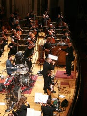 The Cincinnati Symphony Orchestra and The National in a previous MusicNOW Festival in Music Hall.