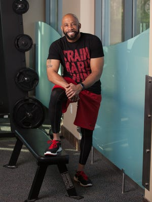 Kennis Sewell Sr., owner of LYFE, a personal training business.