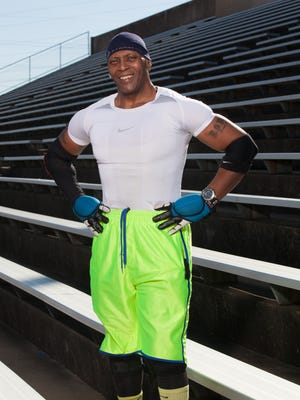 Anthony Eggleston is a personal trainer who works with people of all ages, fitness levels and income levels.