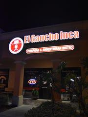 El Gaucho Inca Argentinian and Peruvian restaurant off of Immokalee Road.
