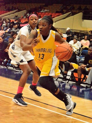 Second-team All-SWAC selection Jazmin Boyd helped Grambling secure a share of the regular season title and top seed in this week's conference tournament.
