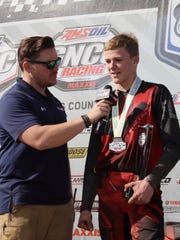Devon Feehan, of Windsor, has won his first two Pro-Am races.