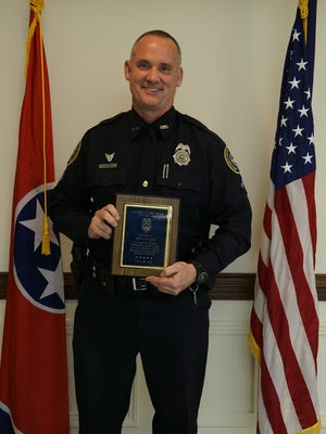 Investigator Charles Cook was named the Gallatin Police Department Officer of the Year for 2016.