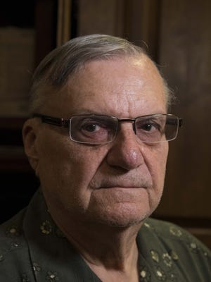Sheriff Joe Arpaio speaks to the Arizona Republic about his pardon received from President Donald Trump.