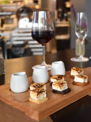 Customers can order s'mores off the Vanillamore desert menu.