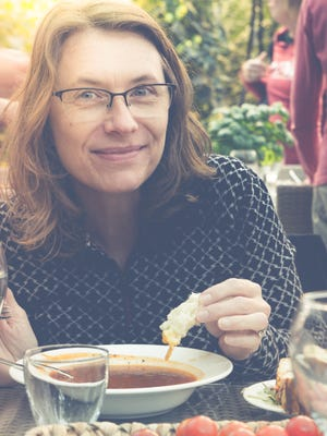 Rhonda Adkins recently took a trip to Iceland, where her family immigrated from, to learn about traditional Icelandic food.