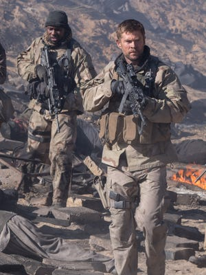"Chris Hemsworth in ""12 Strong."""