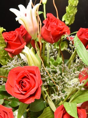"""Red roses are the universal saying for """"I love you"""" whether it's for Valentine's Day or any day!"""