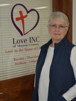 Linda Myers began her tenure as executive director of Love In the Name of Christ of Mason County in December. She plans to launch a program this fall to help job seekers improve their job-seeking skills.