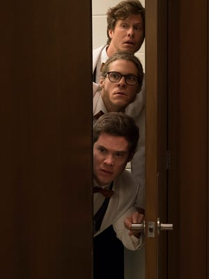 """Game Over, Man!""  stars (from top) Anders Holm, Blake Anderson and Adam DeVine."