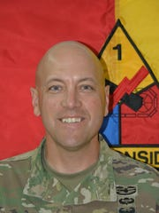 Lt. Col. Dave Norris has led the 4th Battalion, 27th Field Artillery Regiment for the past two years. He will relinquish command Friday in Kuwait.