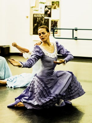 """Caitlin Negron will dance the part of The Bride for Dance Kaleidoscope's production of """"Appalachian Spring."""""""