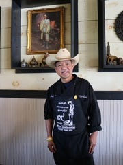 A portrait of Springfield restaurant owner Tong Trithara