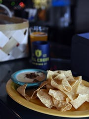 Chips and queso make a perfect appetizer at SoKno Taco