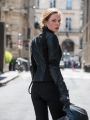 "Rebecca Ferguson stars in ""Mission: Impossible - Fallout."""