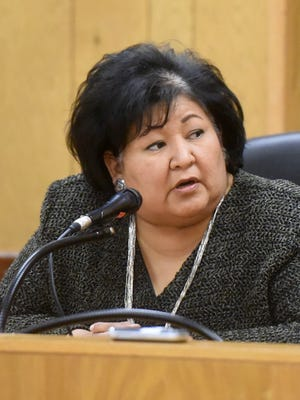 """""""It's sad but now the reality is we have to deal with these things,"""" said Central Consolidated School District Board Secretary Christina Aspaas during a Monday meeting in Shiprock."""