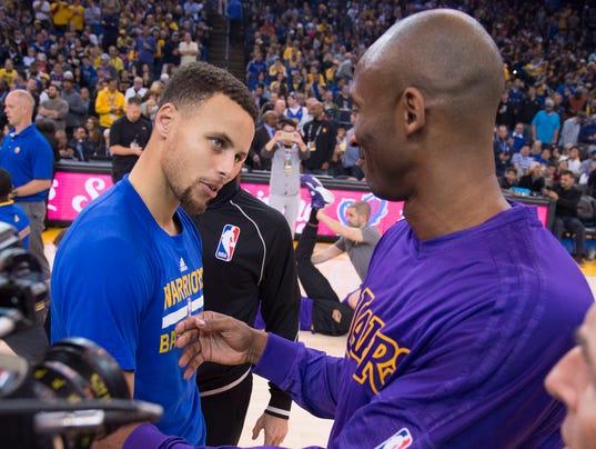 Stephen Curry Kobe Bryant