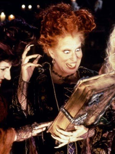 "Disney Channel plans to make a remake of the 1993 ""Hocus Pocus,"" starring Bette Midler."