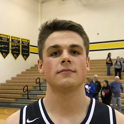 Granville senior Jack Lonzo had 18 points, including