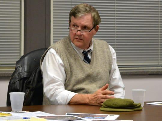 Indian River school board member Dr. Donald Hattier.