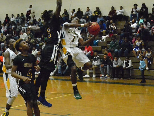 Greensville County senior guard Tyquan Odom, a first-team
