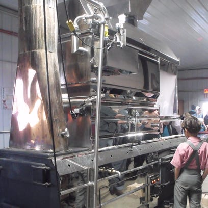 The Extreme Heat Wave Sunrise Evaporator was in demonstration