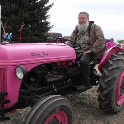 An Improved Love tractor was showcased at the antique